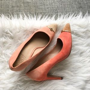 Tory Burch suede high heels